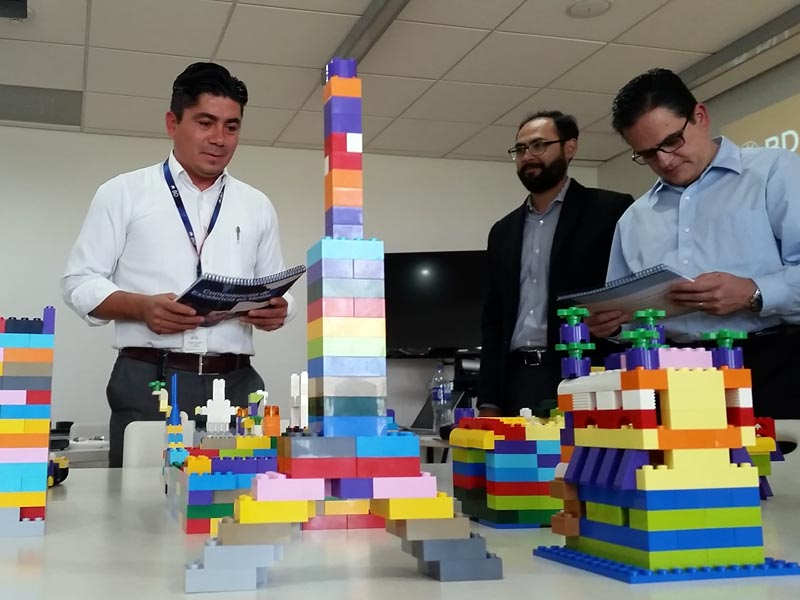Team building: Lego Team Builders